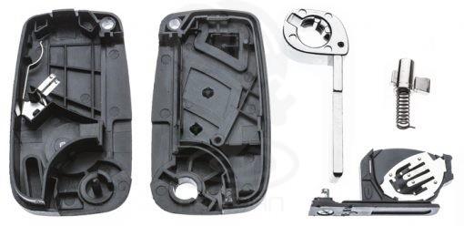κέλυφος-καβούκι για την επισκευή αναδιπλούμενου κλειδιού FIAT