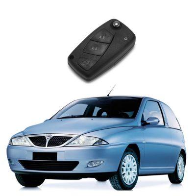 Κλειδί με τηλεχειρισμό και immobilizer για LANCIA Y.