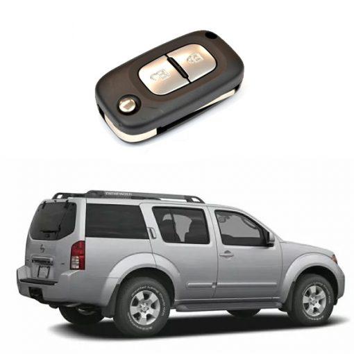 Κλειδί με τηλεχειρισμό και immobilizer για NISSAN PATHFINDER.