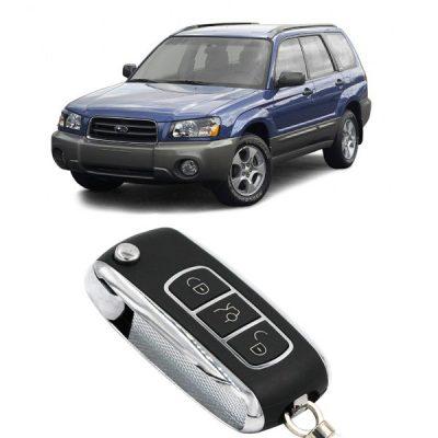 Κλειδί με τηλεχειρισμό και immobilizer για SUBARU FORESTER