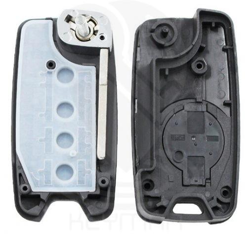 κέλυφος για επισκευή κλειδιού jeep chrysler