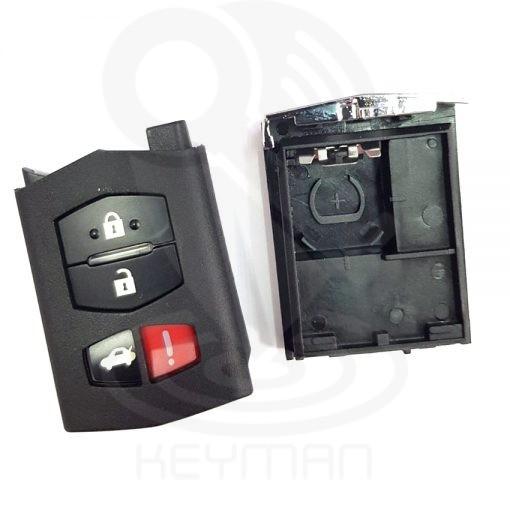 Ανταλλακτικό κέλυφος για την επισκευή κλειδιού αυτοκινήτου MAZDA
