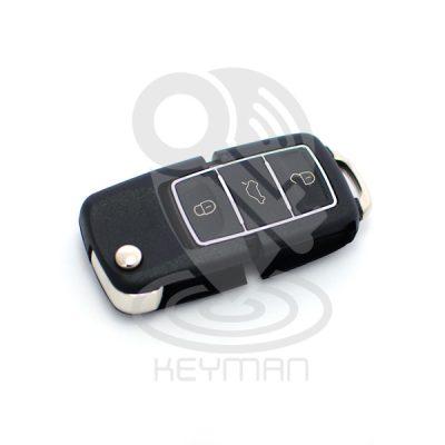 Αναδιπλούμενο κλειδί SKODA VW SEAT